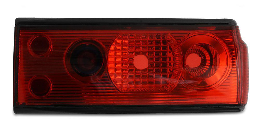 Lanterna Traseira Voyage 91 92 93 94 95 Adaptável ao Voyage 82 83 84 85 86 87 88 89 90 Modelo RED