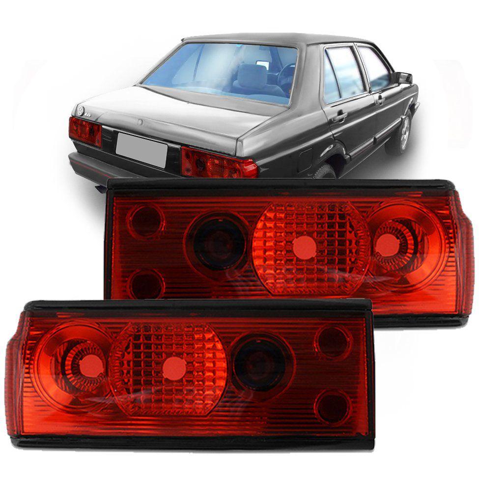 Lanterna Red – Voyage – Modelo Esportivo / Tuning – 82 83 84 85 86 87 88 89 90 91 92 93 94 95 – Marca Inovox  - Artmilhas