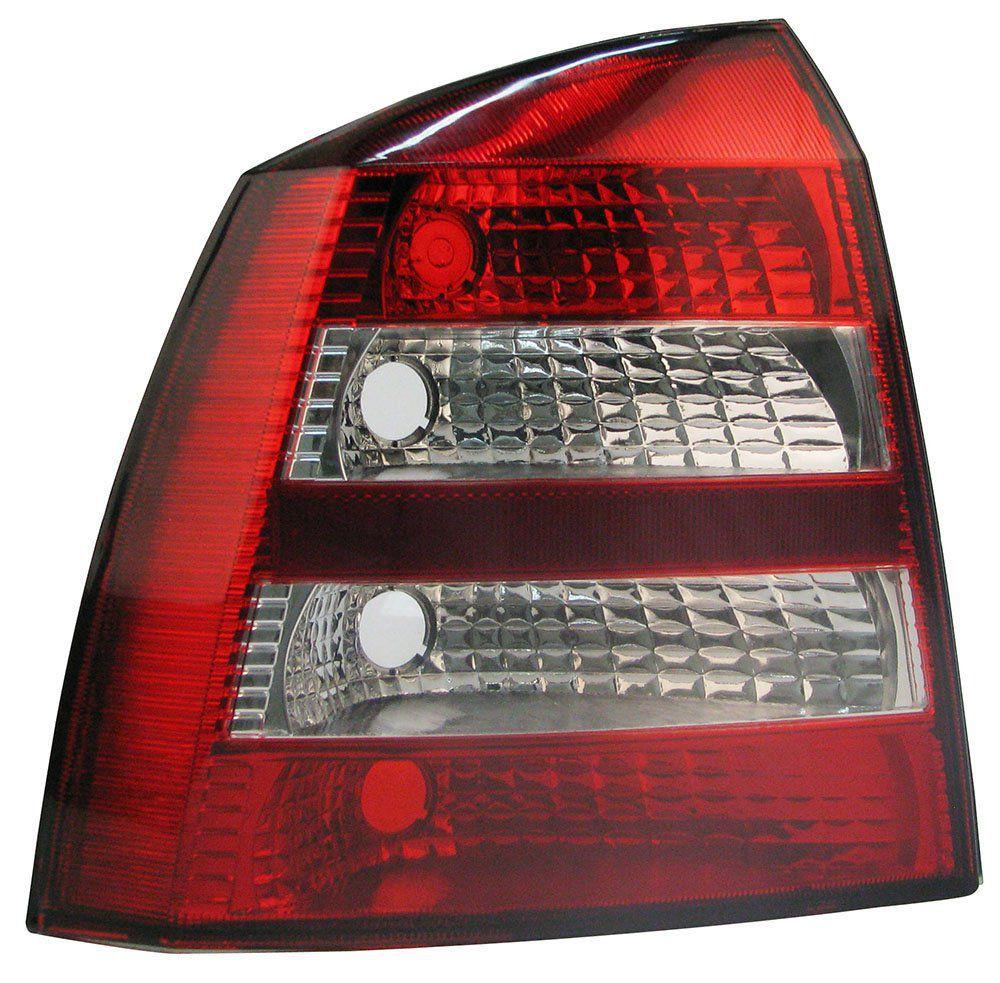 Lanterna Traseira Astra Hatch 03 04 05 06 07 08 09 10 11 12 Com Ré Cristal