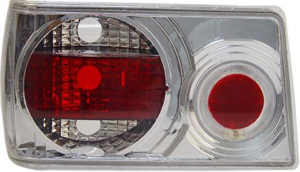 Lanterna Traseira Chevette 83 84 85 86 87 88 89 90 91 92 Com Efeito Neon Modelo Cristal