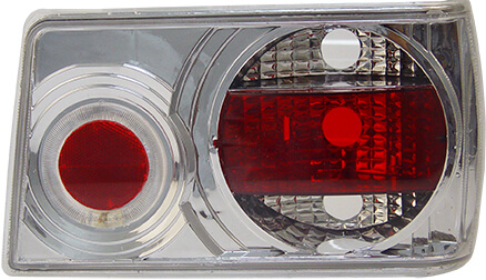 Lanterna Traseira Chevette 83 84 85 86 87 88 89 90 91 92 93 Cristal Com Efeito Neon