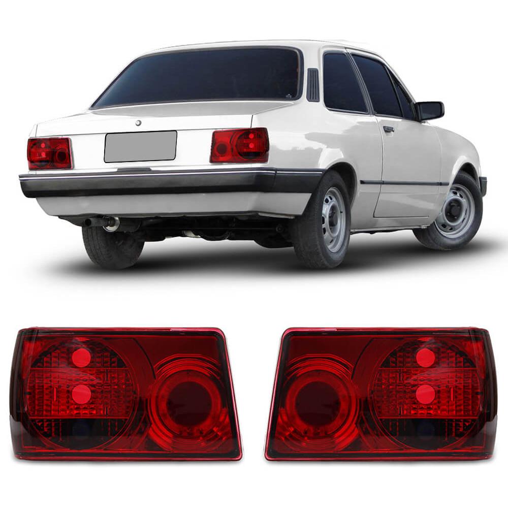 Lanterna Traseira Chevette 83 84 85 86 87 88 89 90 91 92 93 Modelo RED