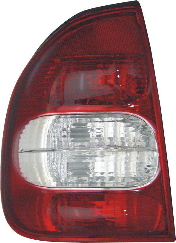 Lanterna Traseira Corsa Sedan Classic 00 01 02 03 04 05 06 07 08 09 10 Com Ré Cristal