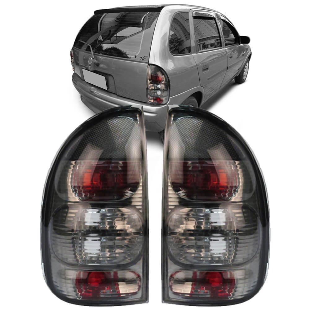 Lanterna Traseira Corsa Hatch Pick-up Wagon 94 95 96 97 98 99 00 01 02 03 Fumê