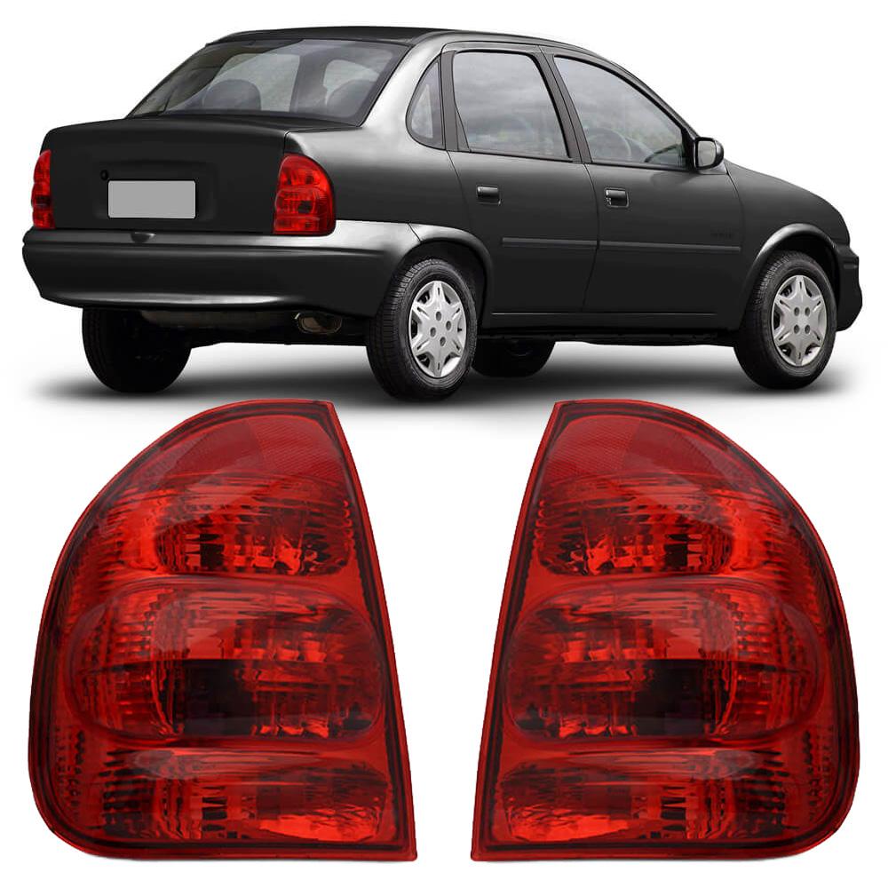 Lanterna Traseira Corsa Sedan Classic 02 03 04 05 06 07 08 09 10 Modelo RED