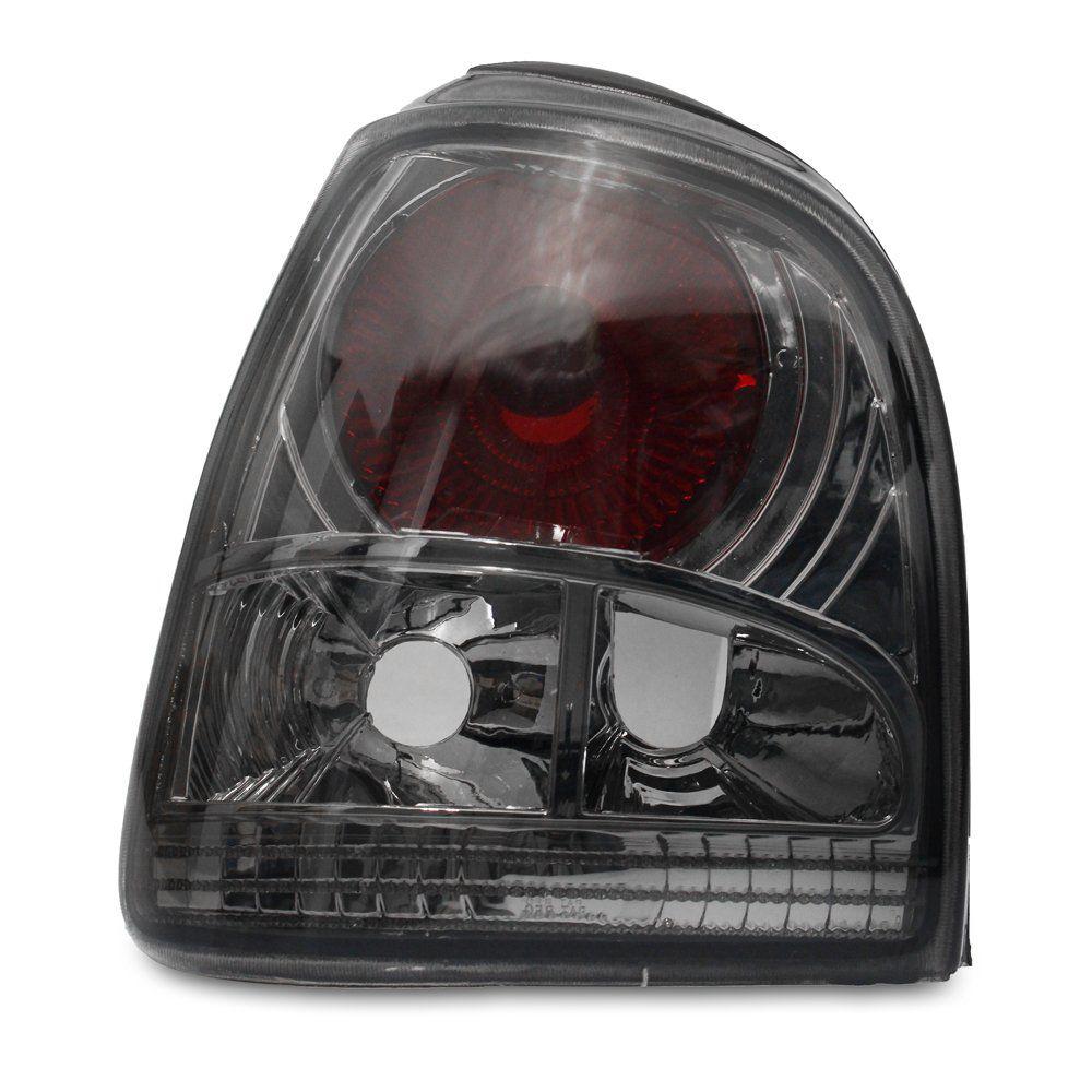 Lanterna Traseira Encaixe CIBIÉ – Gol Bola e Gol Special – Modelo Esportivo / Tuning – Preto / Fumê – 95 96 97 98 99 00 01 02– Marca Inovox  - Artmilhas