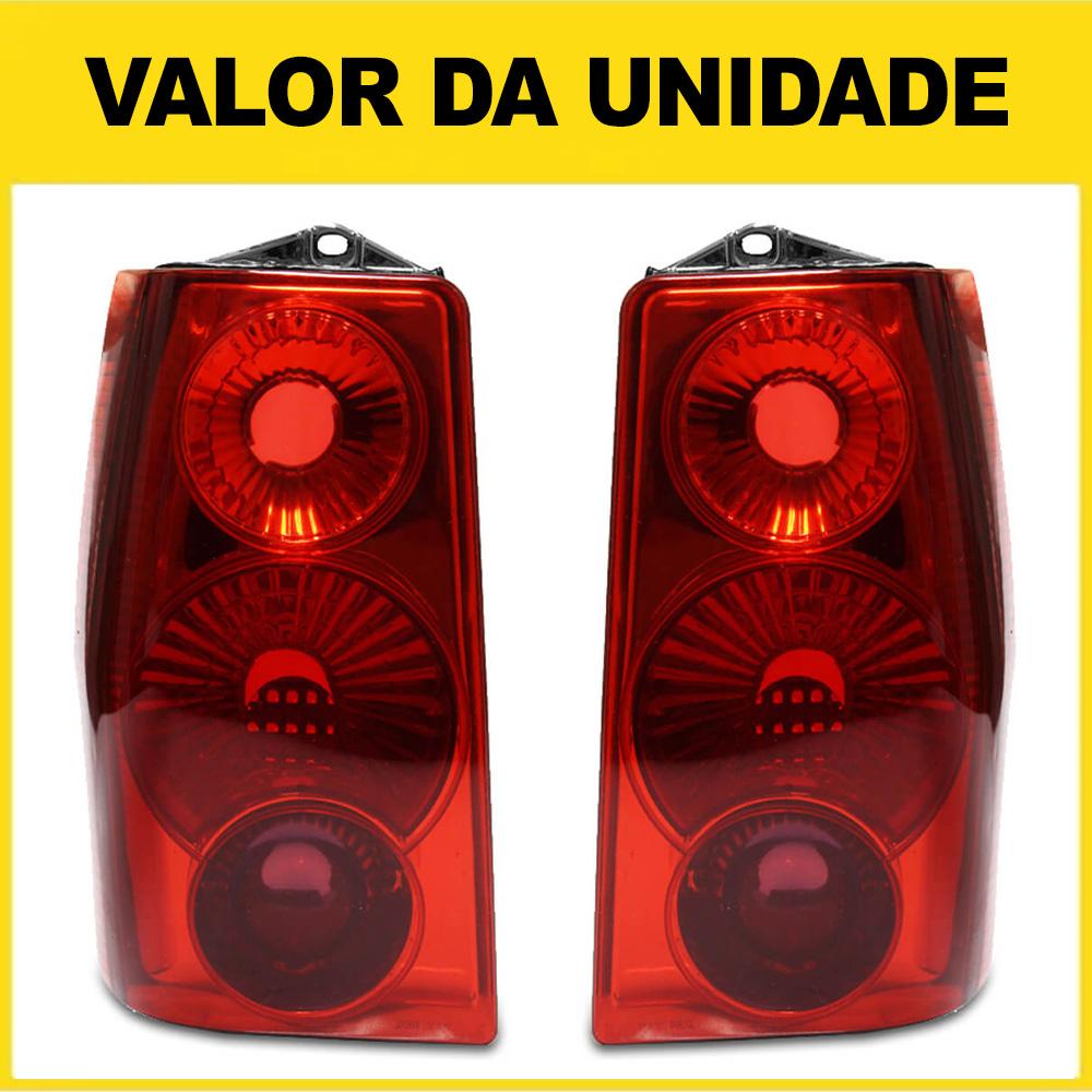 Lanterna Traseira Fiorino Elba 85 86 87 88 89 90 91 92 93 94 95 96 97 98 99 00 01 02 03 04 05 06 07 08 09 10 11 12 13 Modelo RED