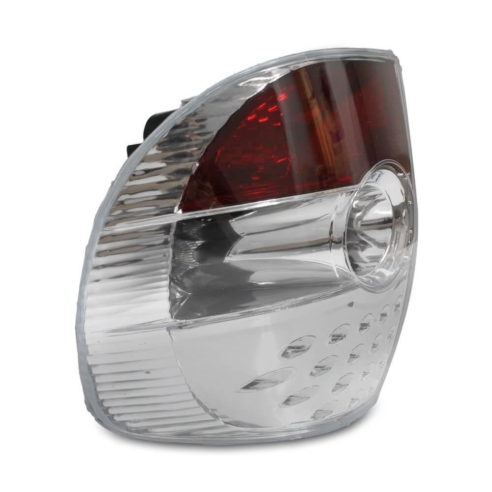 Lanterna Traseira Fox Crossfox 03 04 05 06 07 08 09 Cristal Com Efeito LED
