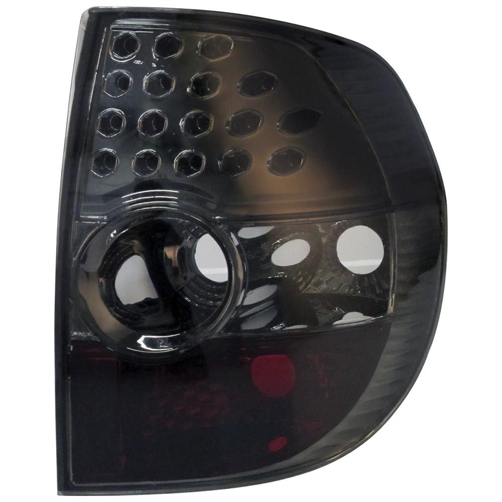Lanterna Traseira Fox Crossfox 03 04 05 06 07 08 09 Fumê Com Efeito LED