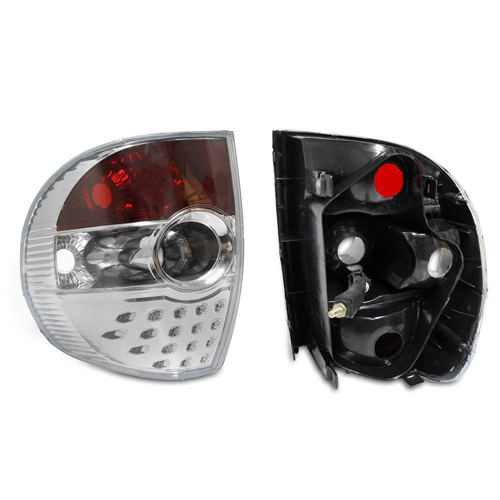 Lanterna Cristal Fox Crossfox 03 04 05 06 07 08 09 Modelo Esportivo Com Efeito LED Marca Inovox  - Artmilhas