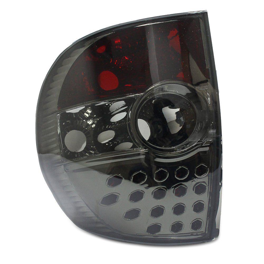 Lanterna Traseira Fox Crossfox 03 04 05 06 07 08 09 Com Efeito LED Fumê