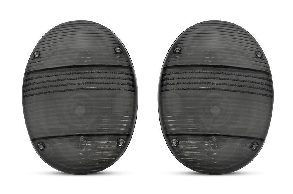 Lanterna Traseira – Fusca Fafá - Fumê / Preto Modelo New Beatle – Marca Inovox  - Artmilhas