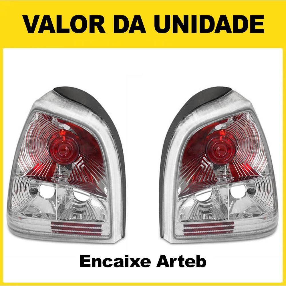Lanterna Traseira Gol Bola 95 96 97 98 99 00 Gol Special 01 02 03 Encaixe Arteb Mod. Cristal