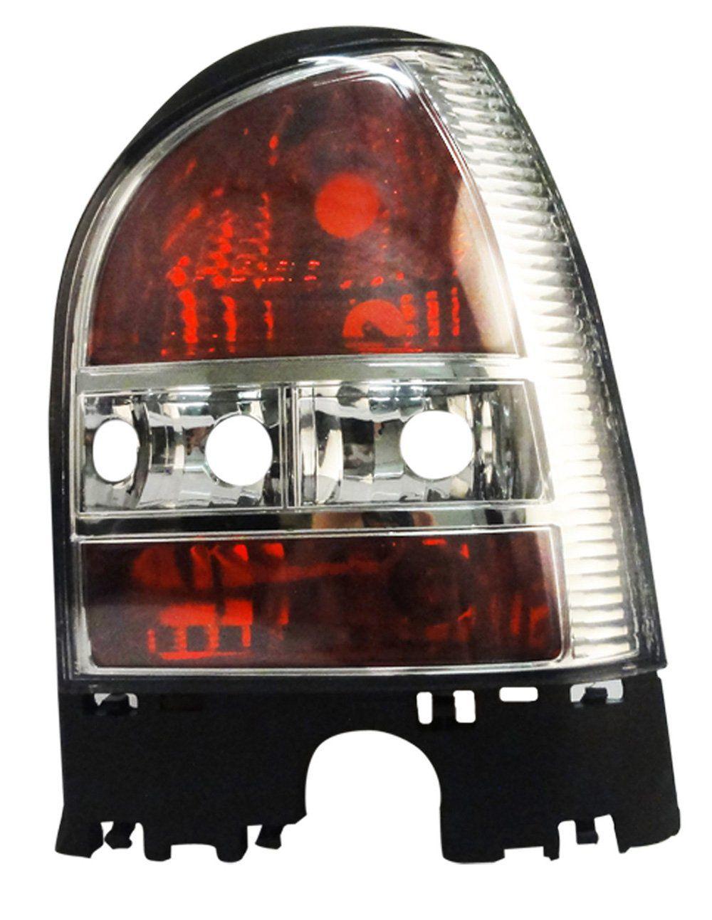 Lanterna Traseira Gol G3 00 01 02 03 04 05 Cristal