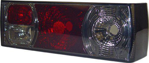 Lanterna Traseira – Gol Quadrado e Gol 1000 (mil) – Modelo Esportivo / Tuning – Preto / Fumê – 87 88 89 90 91 92 93 94 95 – Marca Inovox  - Artmilhas
