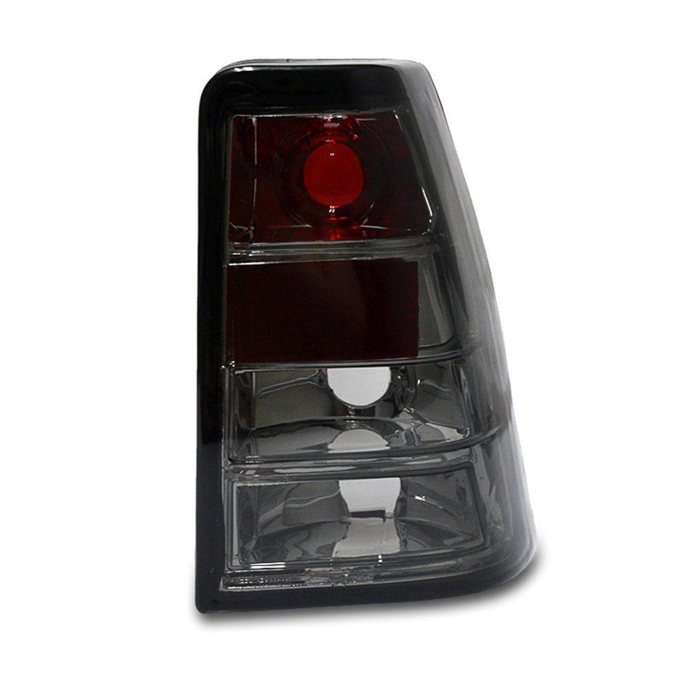 Lanterna traseira Kadett Modelo Esportivo Tuning Fumê Preto Altezaza 86 87 88 89 90 91 92 93 94 95 96 97 98 Marca Inovox  - Artmilhas