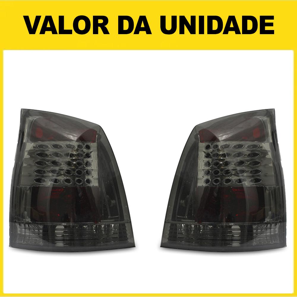 Lanterna Traseira Palio G3 04 05 06 07 08 09 10 11 12 13 14 15 16 Fumê Com Efeito LED