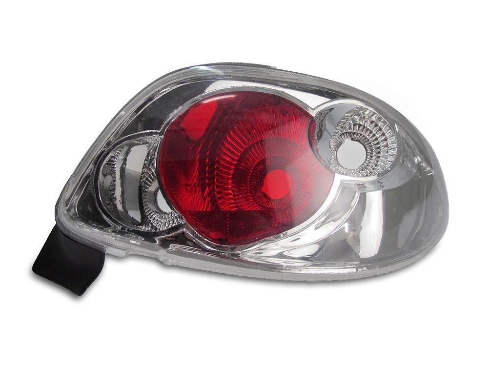 Lanterna Traseira Peugeot 206 96 97 98 99 00 01 02 03 04 05 06 07 08 Cristal