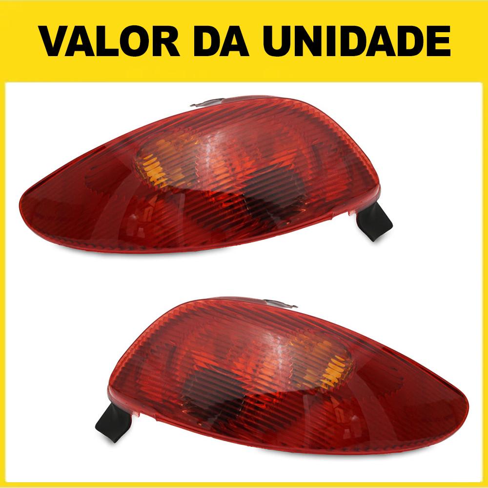 Lanterna Traseira Peugeot 206 e 206 CC 96 97 98 99 00 01 02 03 04 05 06 07 08 Modelo Original
