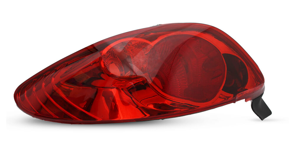 Lanterna Traseira Peugeot 206 e 206 CC 96 97 98 99 00 01 02 03 04 05 06 07 08 Modelo RED