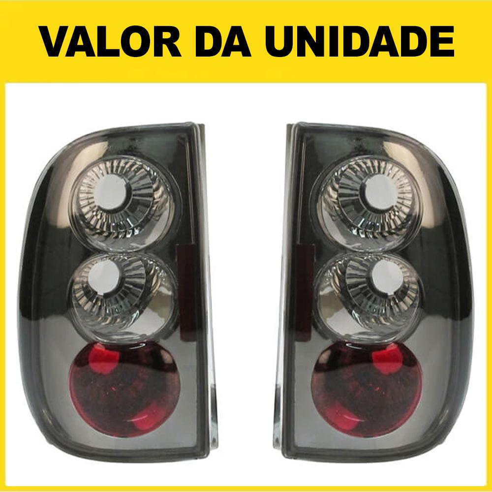Lanterna Traseira Saveiro Bola 96 97 98 99 Saveiro G3 00 01 02 03 04 05 Fumê