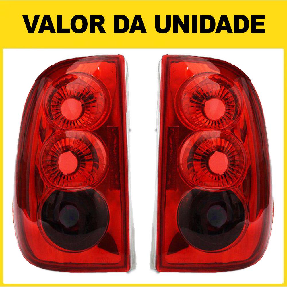 Lanterna Traseira Saveiro Bola 96 97 98 99 Saveiro G3 00 01 02 03 04 05 Modelo RED