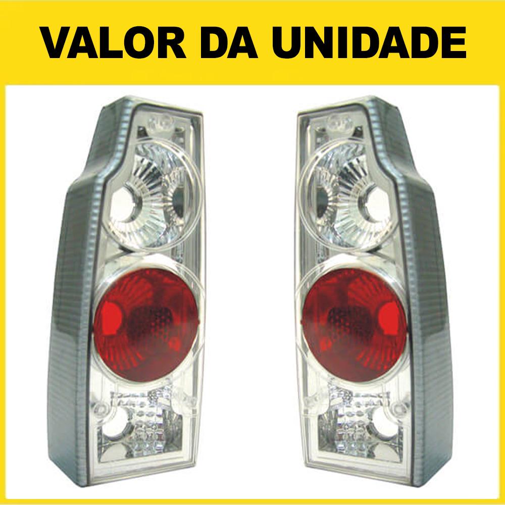 Lanterna Traseira Saveiro Parati 83 84 85 86 87 88 89 90 91 92 93 94 95 96 97 Cristal