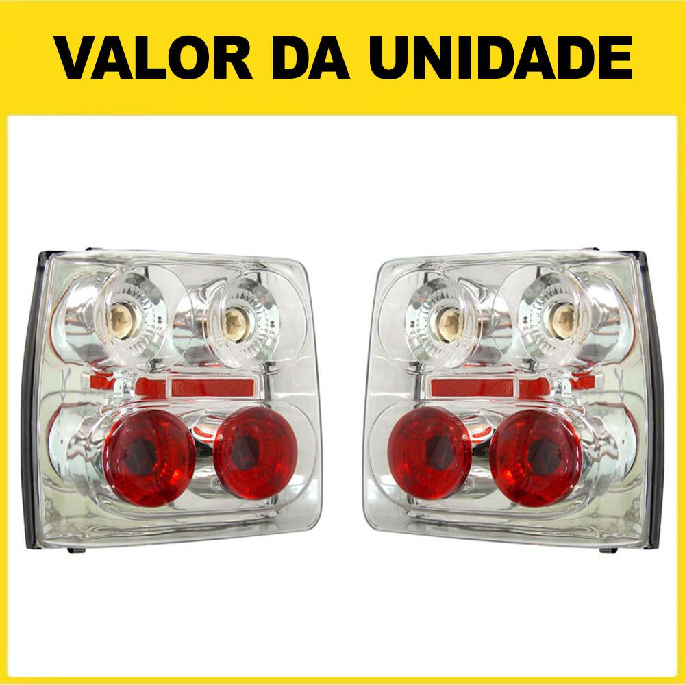 Lanterna Traseira Uno 84 85 86 87 88 89 90 91 92 93 94 95 96 97 98 99 00 01 02 03 Cristal