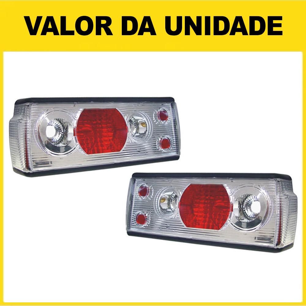 Lanterna Traseira Voyage 91 92 93 94 95 Adaptável ao Voyage 82 83 84 85 86 87 88 89 90 Cristal