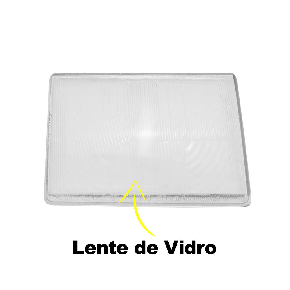 Lente Farol Chevette Marajó Chevy 83 84 85 86 87 88 89 90 91 92 93 Vidro