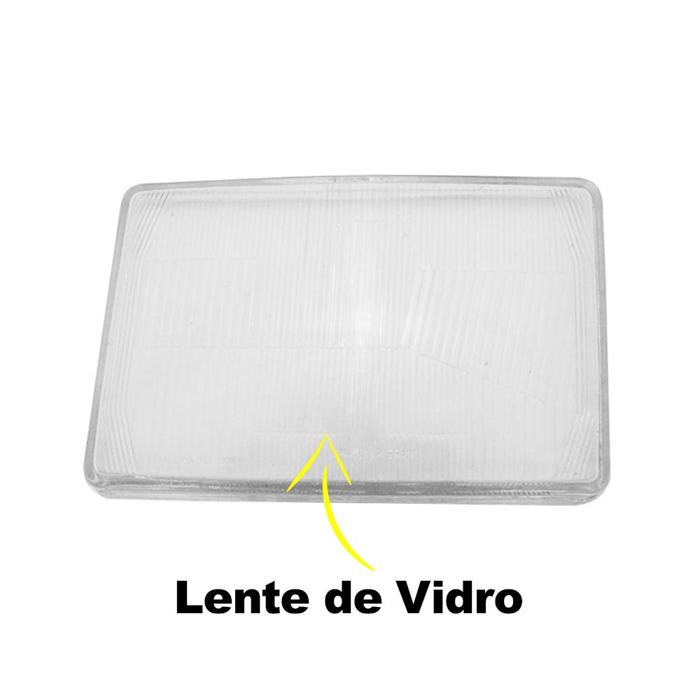 Lente Farol Corcel 2 Belina 2 Del Rey Scala Pampa 78 79 80 81 82 83 84 Vidro
