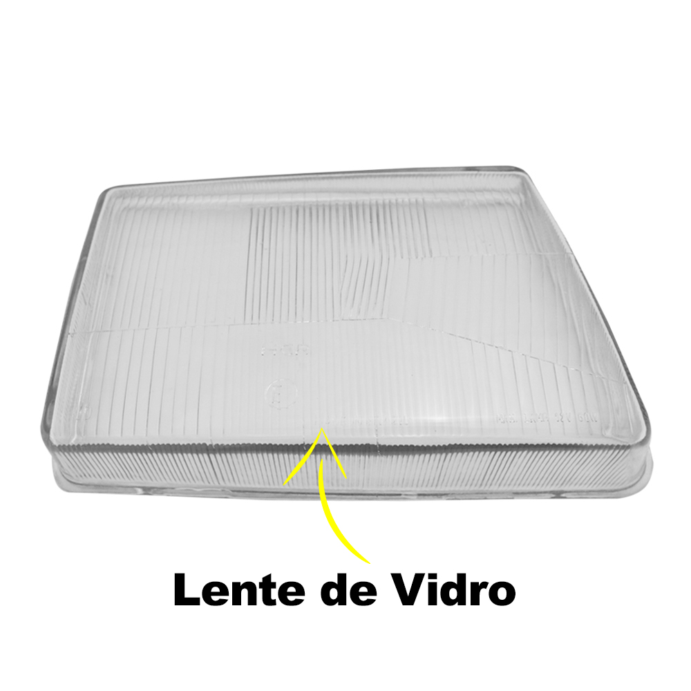 Lente Farol Escort 83 84 85 86 Vidro