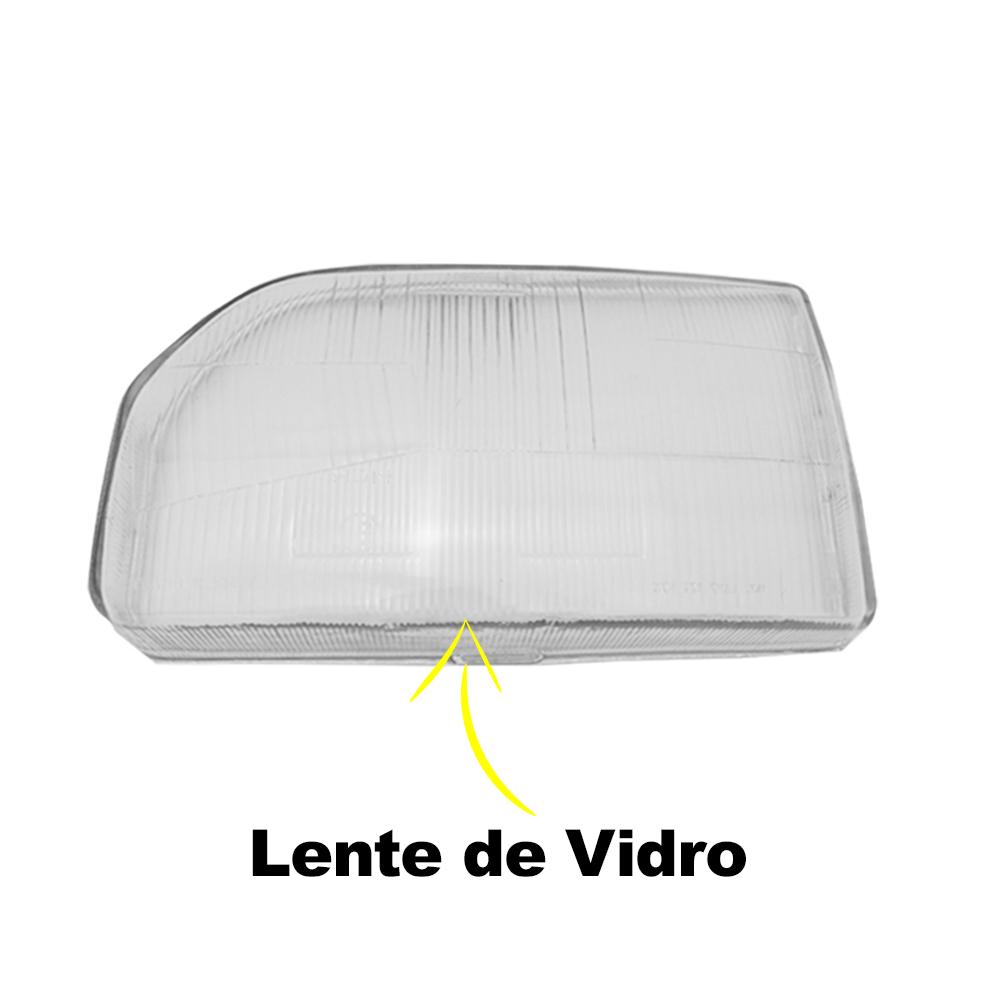 Lente Farol Escort 87 88 89 90 91 92 Verona Apollo Hobby 90 91 92 Vidro