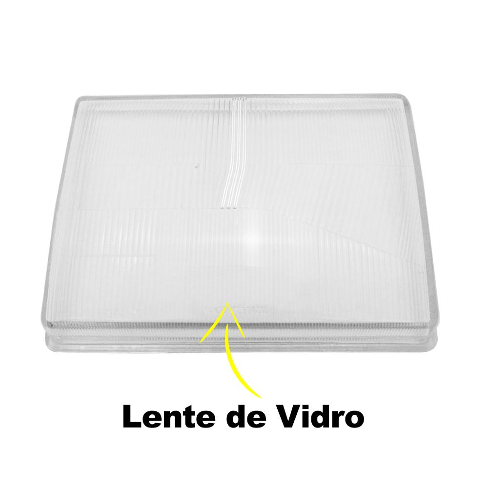Lente Farol F1000 F4000 92 93 94 95 96 97 98 Vidro
