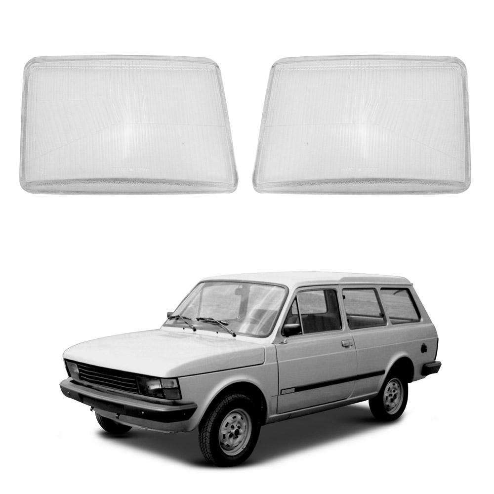 Lente Farol Fiat 147 e Panorama 80 81 82 Vidro