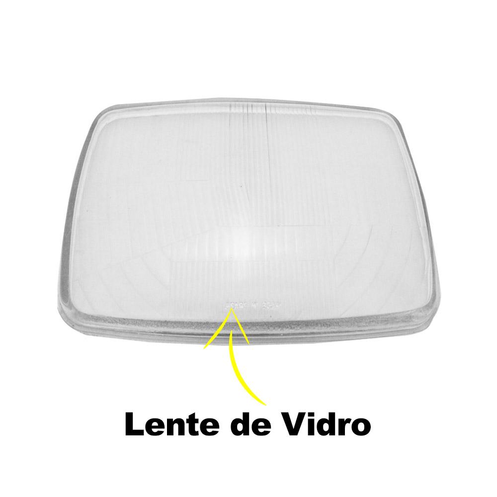 Lente Farol Mercedes Benz 608d 73 74 75 76 77 78 79 80 81 82 83 Vidro
