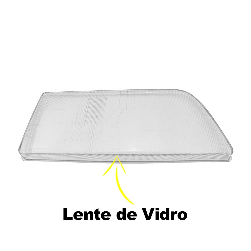 Lente Farol Opala Caravan 88 89 90 91 92 Vidro