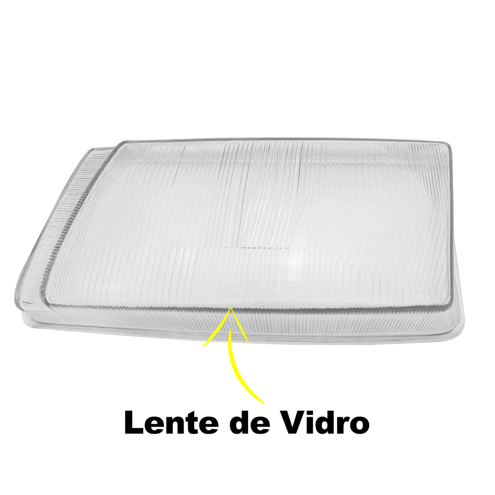 Lente Farol Polo 95 96 97 98 99 00 Vidro