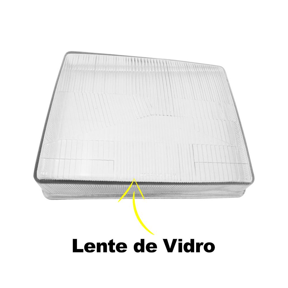 Lente Farol Uno Fiorino Prêmio Elba 85 86 87 88 89 90 Vidro