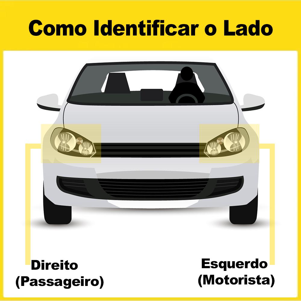Lente Farol Volvo NL 87 88 89 90 91 92 93 94 95 96 97 Vidro