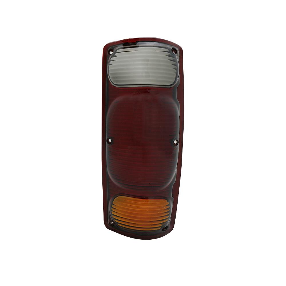 Lente Lanterna Traseira D20 80 81 82 Tricolor