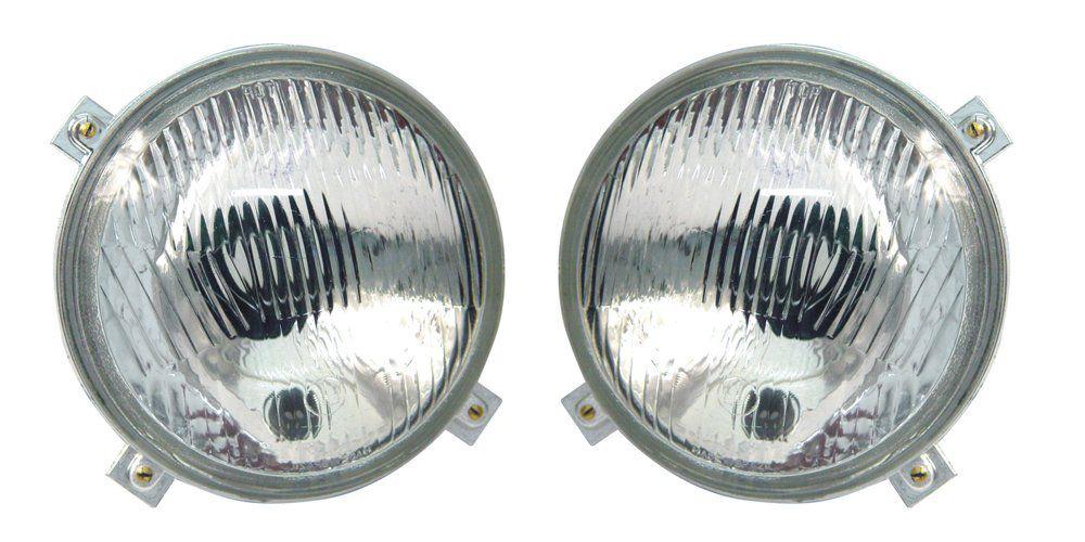 Par Farol – Brasilia e Variant – Modelo Original Com Luz de Estacionamento – 73 74 75 76 77 78 79 80 81 82 - Marca Inov9  - Artmilhas