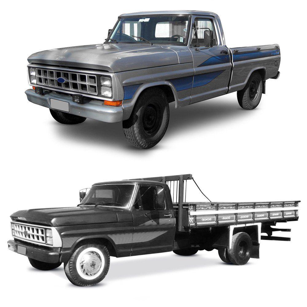 Par Farol – Ford F1000 e Ford F4000 – Modelo Original – 84 85 86 87 88 89 90 91 - Marca Inov9  - Artmilhas
