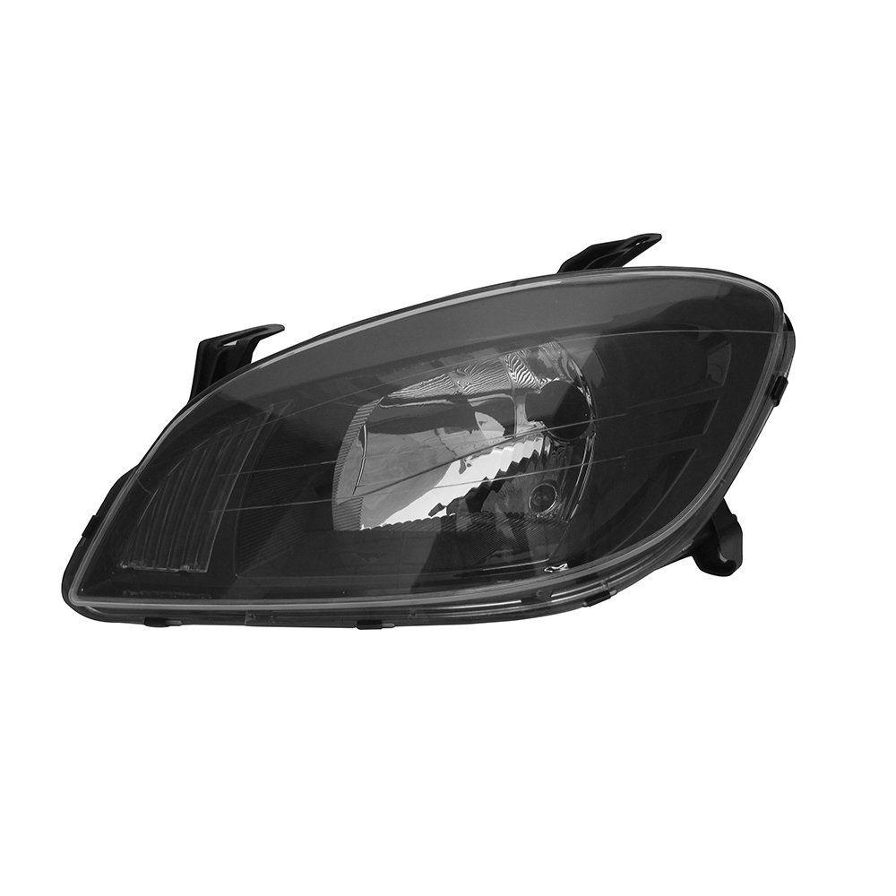Farol Celta e Prisma Máscara Negra com Lâmpadas Halógenas H4 – Modelo Esportivo – 07 08 09 10 11 12 13  - Marca INOV9