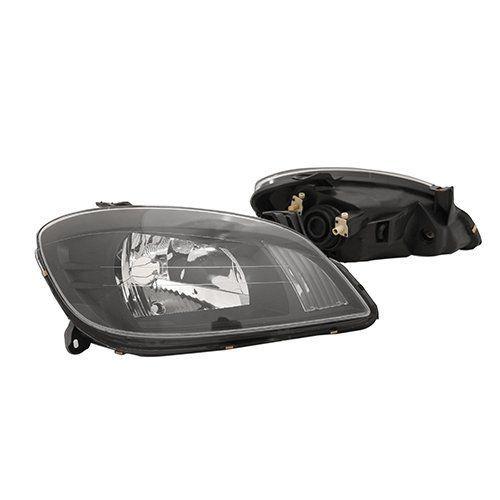 Farol Celta e Prisma Máscara Negra com Kit Xênon H4 6000K – Modelo Esportivo – 07 08 09 10 11 12 13 - Marca INOV9