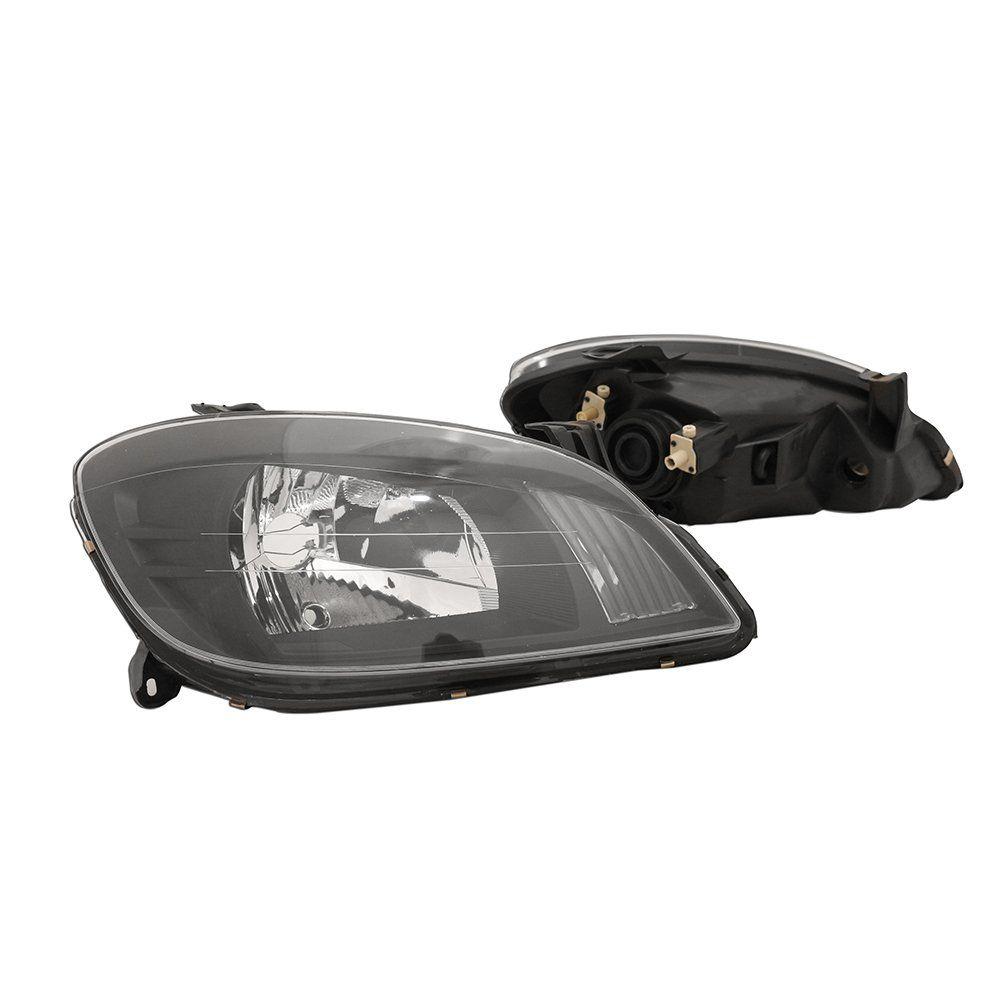 Farol Celta e Prisma Máscara Negra com Lâmpadas T10 13 LEDS – Modelo Esportivo – 07 08 09 10 11 12 13 - Marca INOV9  - Artmilhas