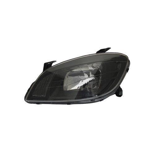 Farol Celta e Prisma Máscara Negra com Super Brancas H4 8500K – Modelo Esportivo – 07 08 09 10 11 12 13 - Marca INOV9