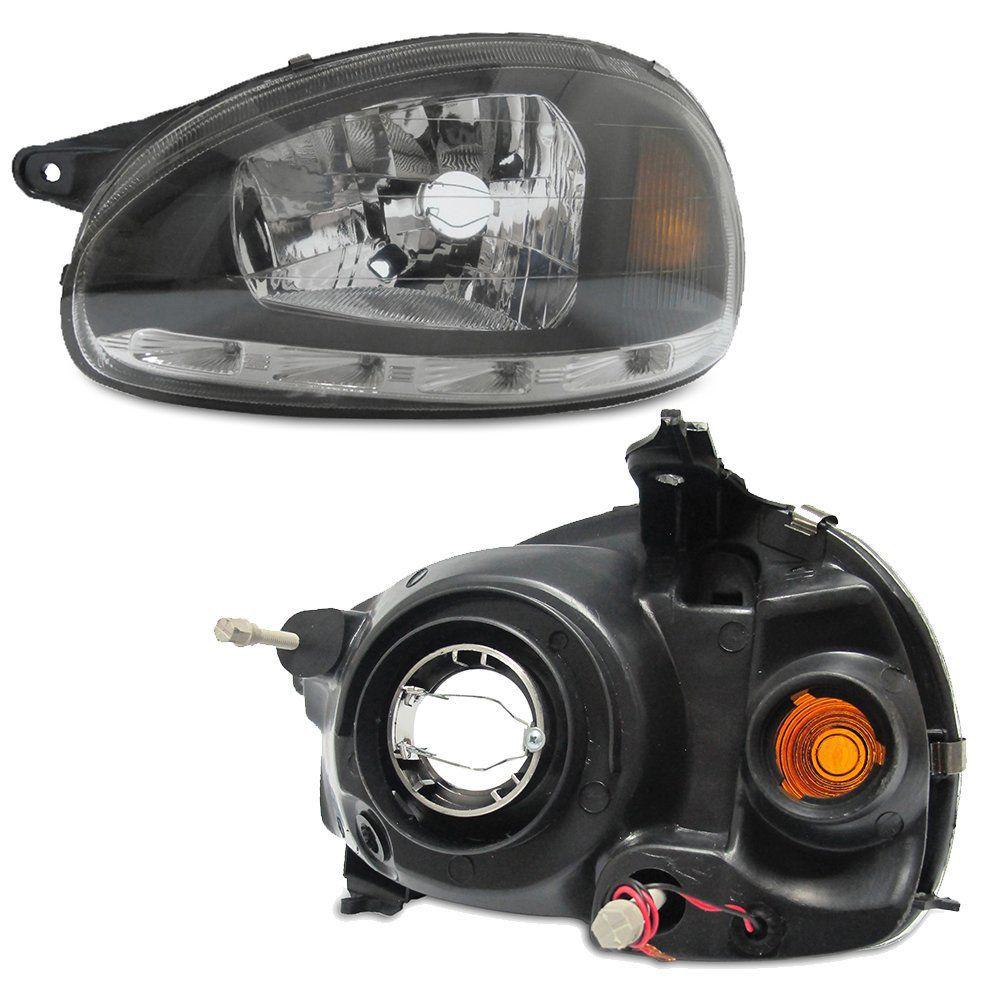 PAR FAROL CORSA 2000 + PAR T10 13 LEDS