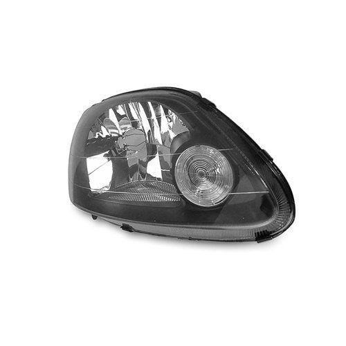 Farol Fox, Crossfox e Spacefox Máscara Negra Arteb com Lâmpadas Super Brancas 8500K – Encaixe Arteb – 03 04 05 06 07 08 09 - Marca INOV9