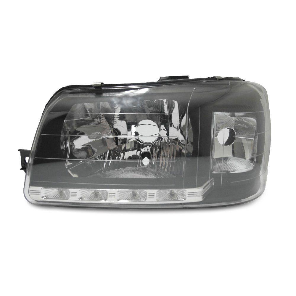 Farol Uno e Fiorino Máscara Negra com Lâmpadas T10 13 LEDS – Farol de LED – 04 05 06 07 08 09 10 11 12 13 - Marca INOV9